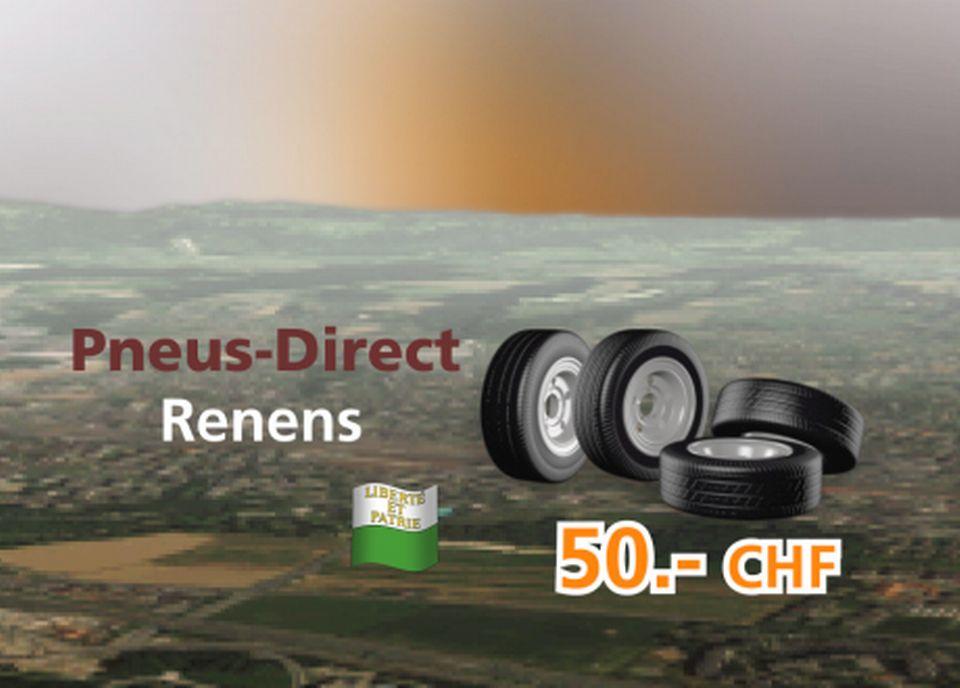 Pneus-Direct à Renens [RTS]