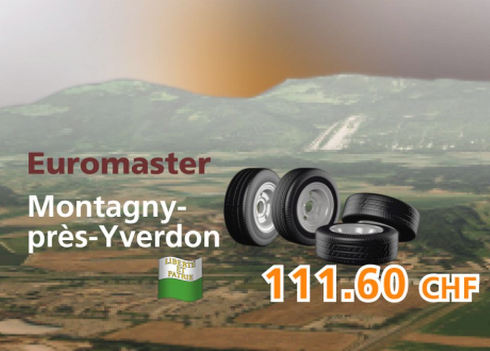 Euromaster à Montagny-près-Yverdon [RTS]