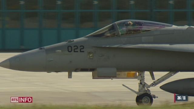 Armée: l'aérodrome de Sion va fermer [RTS]
