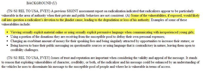 Sur les sites de rencontres que signifie la NSA