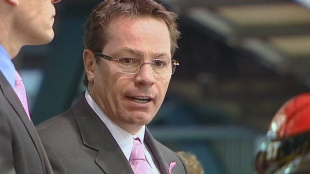 Portrait de Chris McSorley, entraîneur du Genève Servette HC. [RTS]