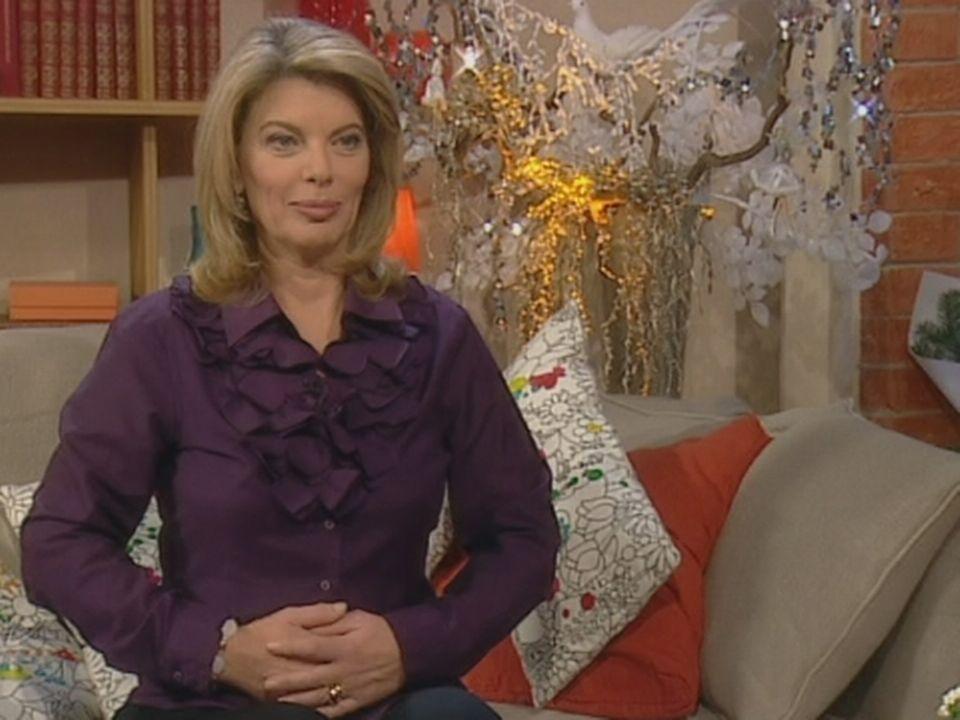 Muriel Siki stresse à Noël. [TSR 2008]