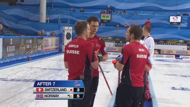 Norvège – Suisse (5-3): les Suisses reviennent au score [RTS]