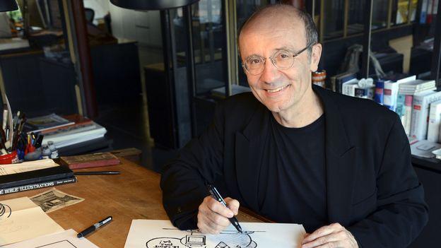 """L'invité du 12h30 - Philippe Geluck publie """"Le Chat passe à table"""""""