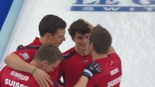 Suisse - Danemark (8-7): Sven Michel qualifie la Suisse sur le fil pour une grande finale face à la Norvège! [RTS]