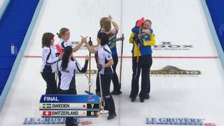 Suisse - Suède (6-7): les Suissesses s'inclinent à nouveau aujourd'hui et joueront donc pour la médaille de bronze face au Danemark [RTS]