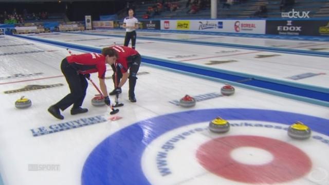 Curling-Européens en Norvège (1-2 finale): l'équipe suisse masculine jouera la finale alors que leurs homologues féminines se contenteront d'un match pour le bronze [RTS]