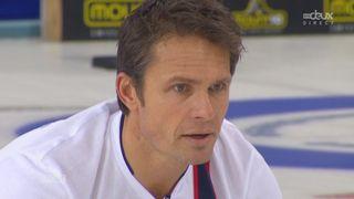 Finale messieurs Suisse- Norvège (7:4): Excellent coup des suisses à trois manches de la fin [RTS]