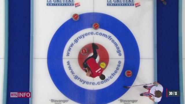 Curling: les Suisses sont devenus champions d'Europe à Stavanger (Norvège) [RTS]