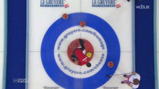 Curling: l'équipe de Suisse masculine devient championne d'Europe à Stavanger (Norvège) et les femmes décrochent le bronze [RTS]
