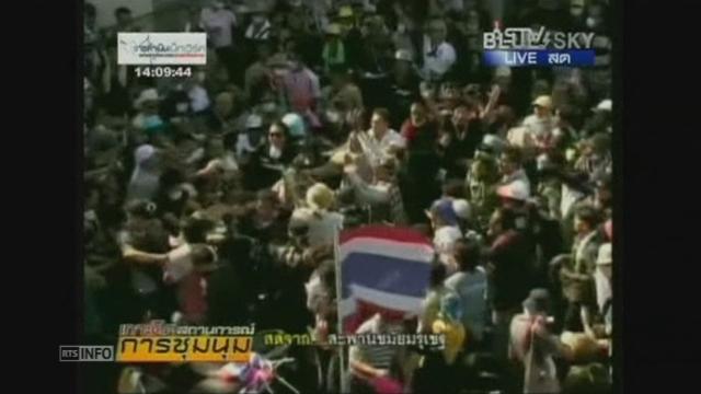 La situation s'envenime en Thaïlande [RTS]