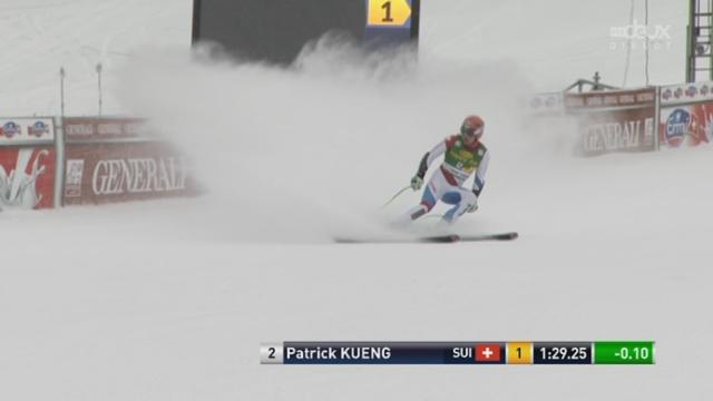Super G messieurs. Le Suisse Patrick Küng réalise le meilleur chrono [RTS]