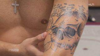 Le mag: les tatouages sont omniprésents dans le sport depuis 10 ans [RTS]