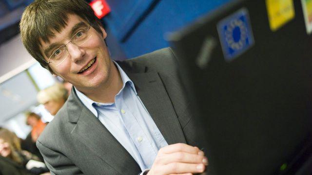 Roger Nordmann, conseiller national socialiste vaudois. [Olivier Maire - Keystone]