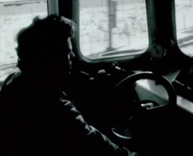 Conducteur de train en 1972.