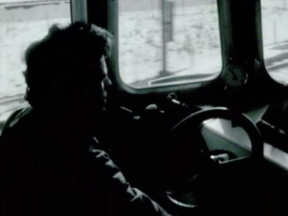 Conducteur de train en 1972. [RTS]