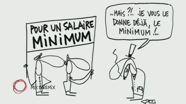 Salaire minimum, version courte [RTS]