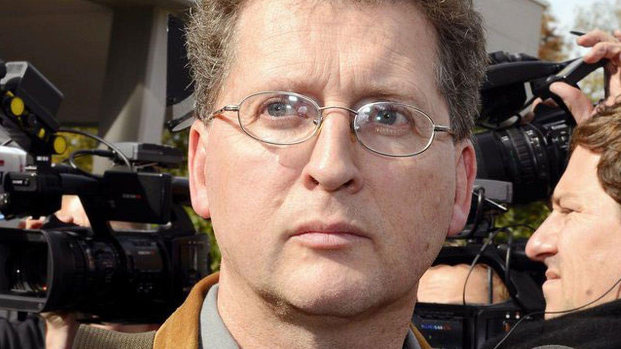Roland Trezzini, père de Lucie (ici, lors du procès en 2012). [Walter Bieri - Keystone]