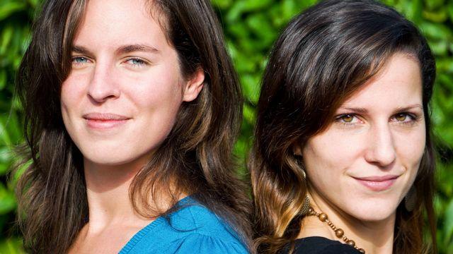 Natacha Milan et Stéphanie Erlanger. [RTS]