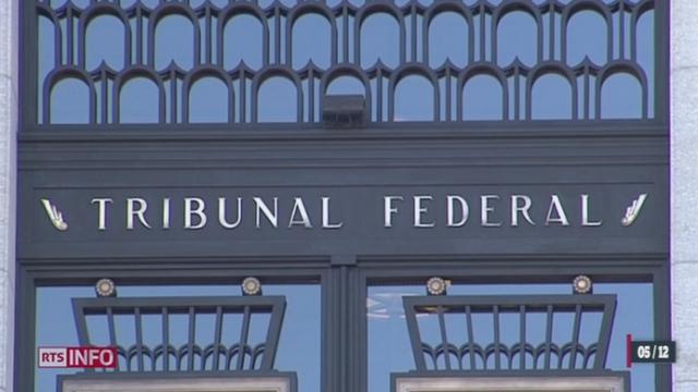 Le Tribunal fédéral décide que l'assassin de Lucie ne sera pas interné à vie [RTS]