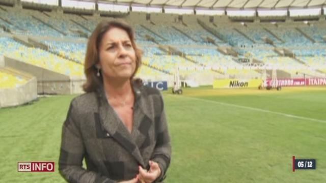 L'opinion est très critique face aux sommes engagées à sept mois de la Coupe du monde au Brésil [RTS]