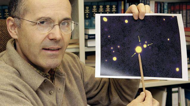Georges Meylan, directeur du laboratoire d'astrophysique de l'EPFL. Salvatore di Nolfi Keystone [Salvatore di Nolfi - Keystone]