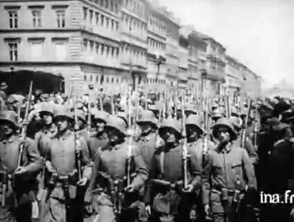 14-18: la Grande guerre en images. [INA]