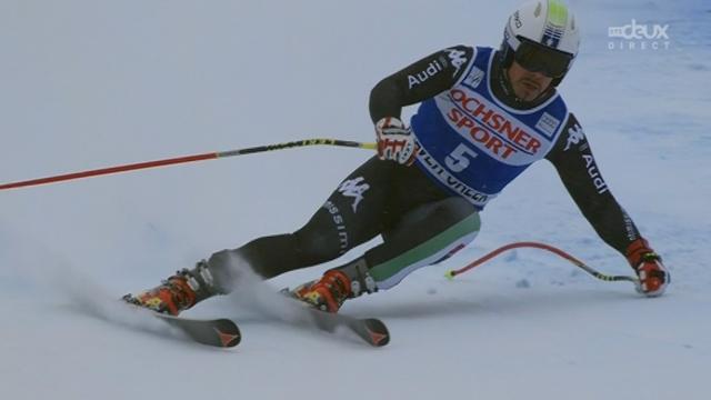 Super-G messieurs. Peter Fill (ITA-dossard 5). 3e de la descente,  l'Italien finit 2e ex aequo en super-G! [RTS]