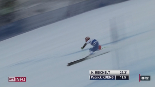 Ski alpin - Bever Creek: Patrick Küng emporte son premier succès en coupe du monde [RTS]