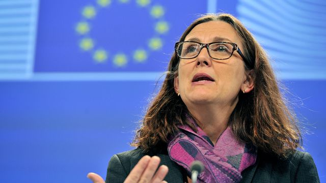 Cecilia Malmström. [Georges Gobet - AFP]