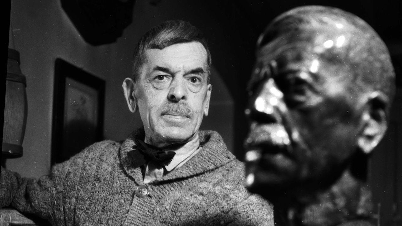 Charles Ferdinand Ramuz (1878-1947) est l'un des plus grands écrivains suisses. [Gaston Paris - AFP]