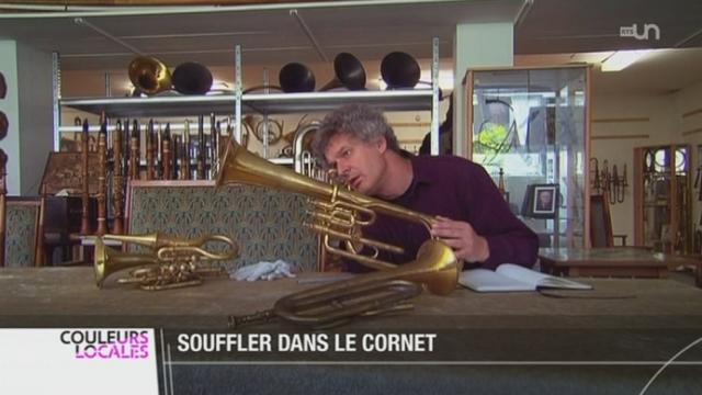 BE: les musicologues se passionnent pour une formidable collection d'anciens instruments de musique [RTS]