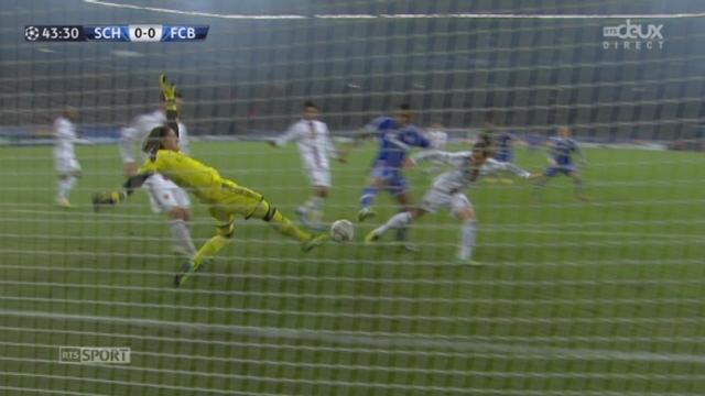 Schalke 04 - FC Bâle (0-0): véritable miracle de Sommer qui sauve in extremis son équipe juste avant la pause! [RTS]