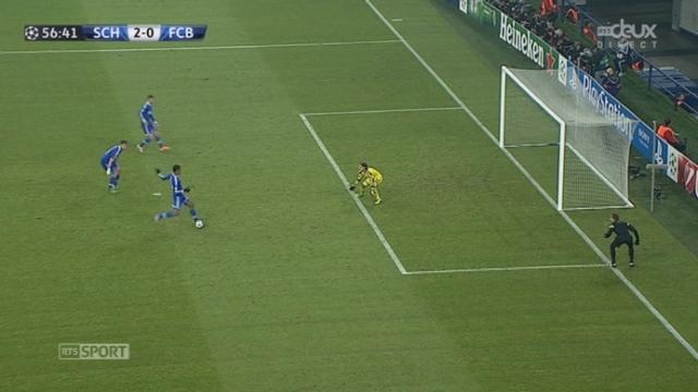 Schalke 04 - FC Bâle (2-0): Matip double la mise alors que 3 joueurs sont en position de hors-jeu [RTS]