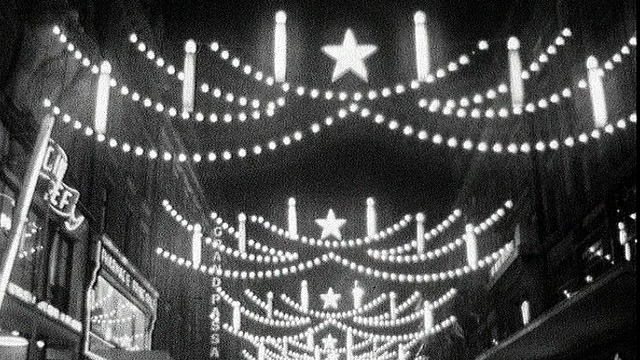 Illuminations de Noël [TSR 1960]