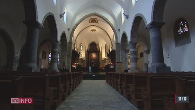 VS: l' abbaye de Saint-Maurice est la plus ancienne d'Europe occidentale, habitée en permanence [RTS]