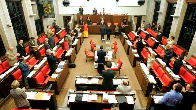 Les débats du Grand Conseil genevois ne seront plus suivis en direct par Léman Bleu. [Martial Trezzini - Keystone]