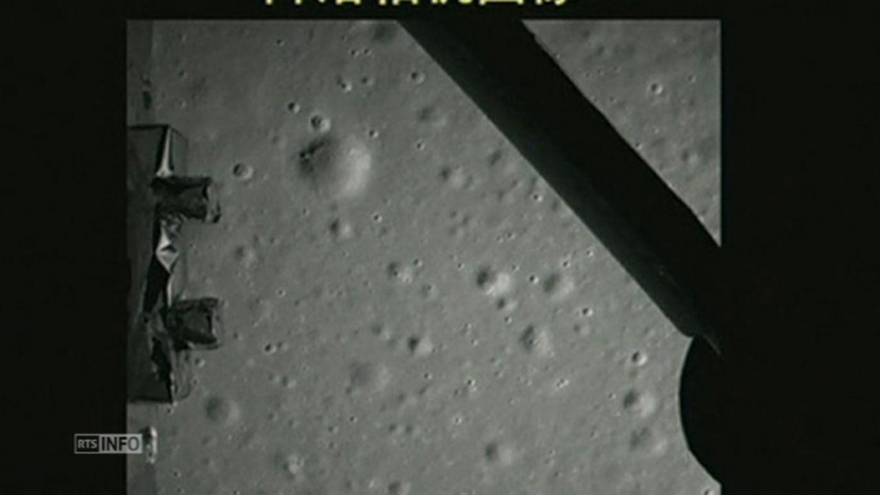 La Chine se pose sur la Lune [RTS]