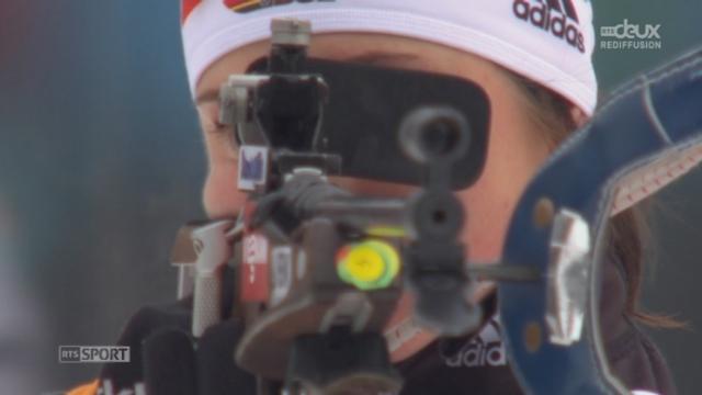 Selina Gasparin s'empare de l'or de l'épreuve du 7.5km [RTS]