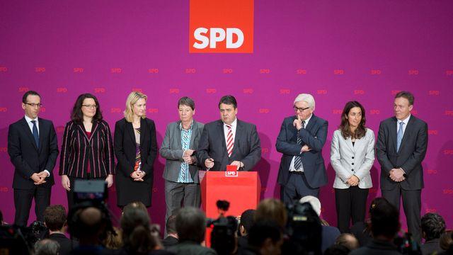 Le nouveau gouvernement allemand. [Christian Thiel - AP/Keystone]