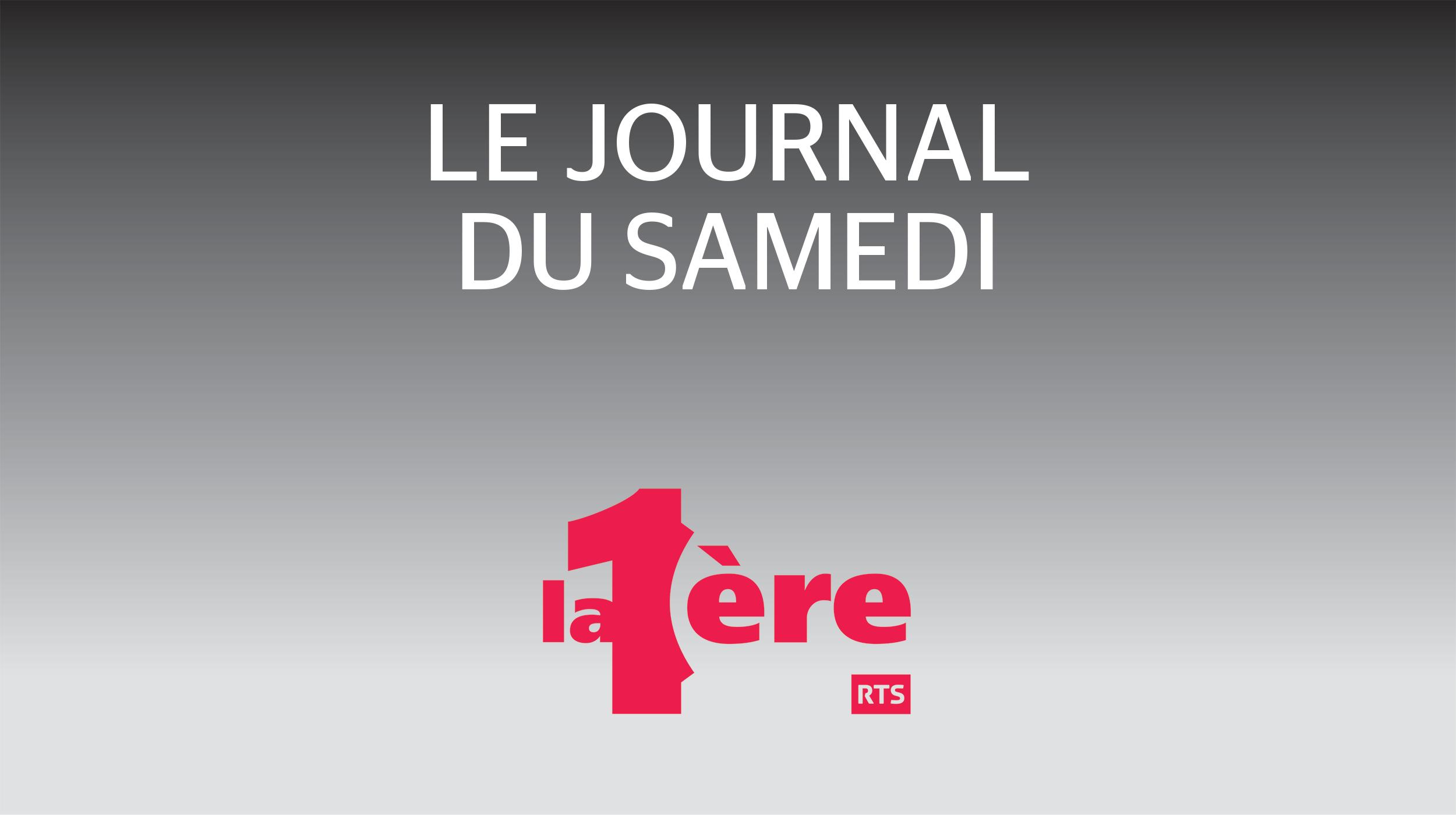 Logo Le journal du samedi [RTS]
