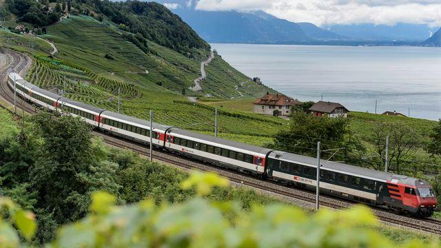 """Le projet """"Financement et aménagement de l'infrastructure ferroviaire"""" ne fait pas l'unanimité au sein de l'UDC. [Keystone]"""
