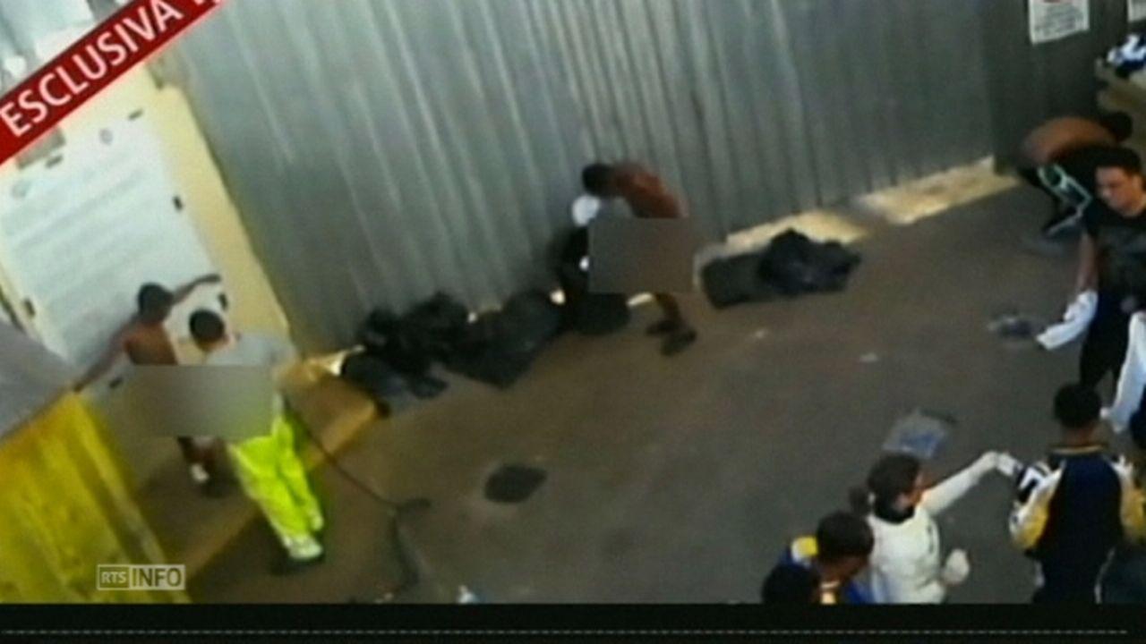 Les images des migrants qui choquent l'Italie [RTS]