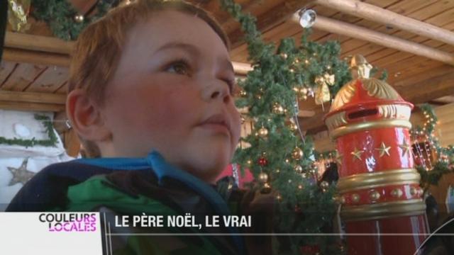 En Suisse, le père Noël est domicilié aux Rochers de Naye (VD) [RTS]