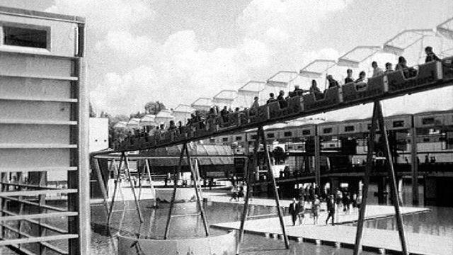 A l'exposition nationale en 1964. [RTS]