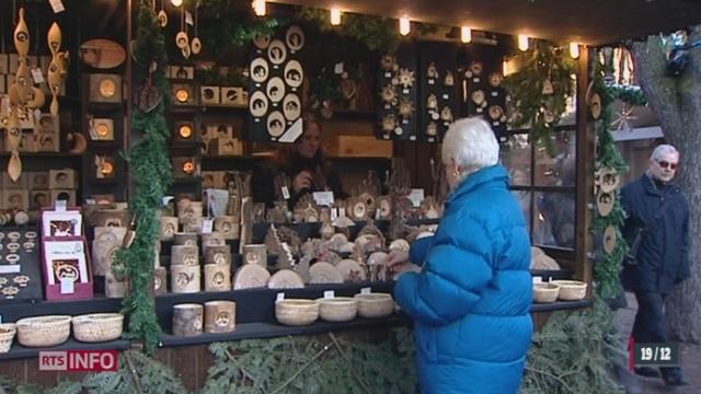 Minimag: Bâle possède le plus grand marché de Noël du pays [RTS]