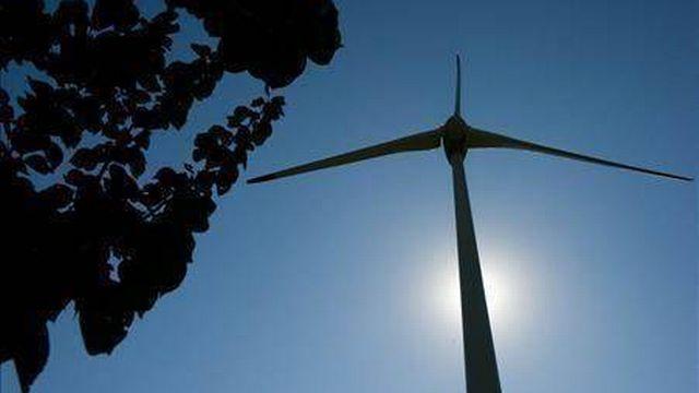 Le projet prévoit l'installation de huit éoliennes. [Keystone]
