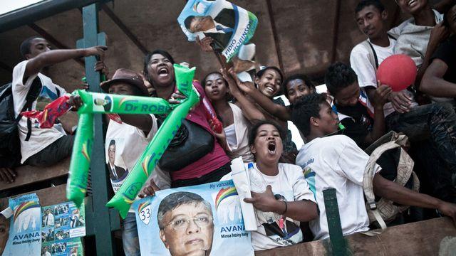 Une trentaine de candidats s'affrontent lors de la présidentielle à Madagascar ce week-end. [Rijasolo - AFP]
