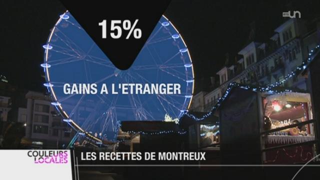 Le Marché de Noël de Montreux (VD) s'étend au niveau international [RTS]