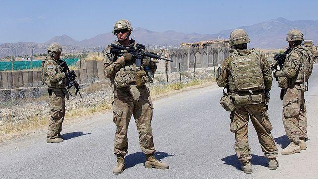 Des soldats américains membre de l'Isaf en Afghanistan. [Waseem Nikzad - AFP]